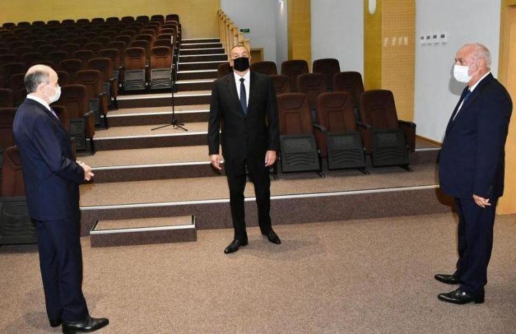 Prezident Sumqayıt Məhkəmə Kompleksinin açılışını edib -  Yenilənib