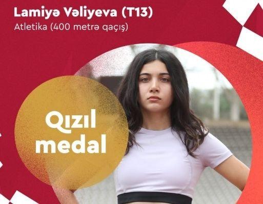 Azərbaycan Tokio Paralimpiadasında  13-cü qızıl medalını qazanıb