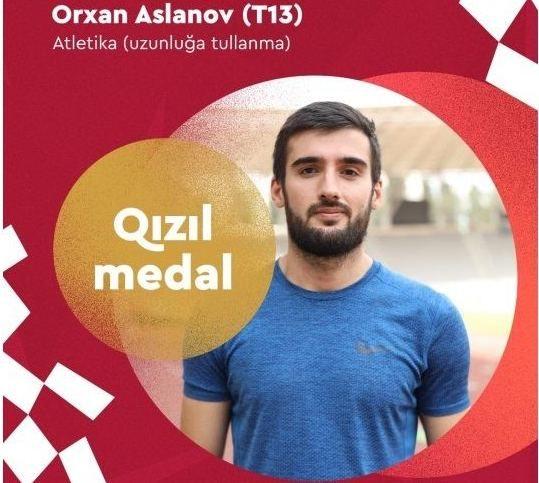 Orxan Aslanov Azərbaycana  14-cü qızıl medalı qazandırıb