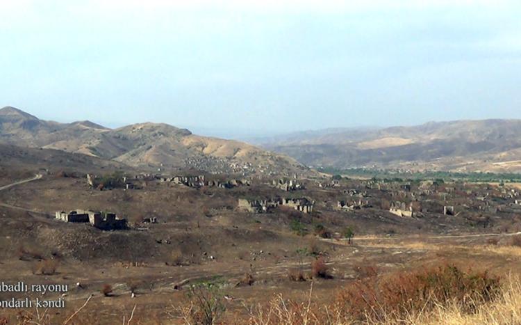 Qubadlı rayonunun Dondarlı kəndindən görüntülər -  VİDEO