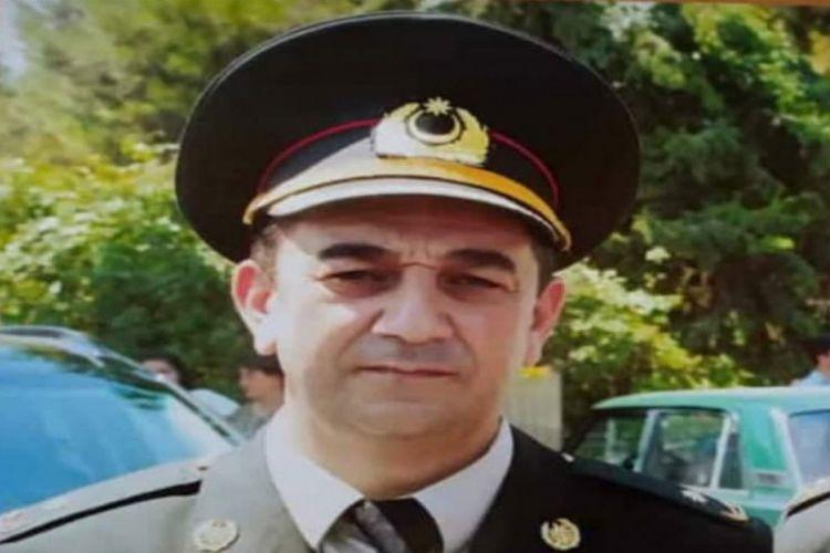 Azərbaycanda mayor atası ilə eyni gündə vəfat etdi
