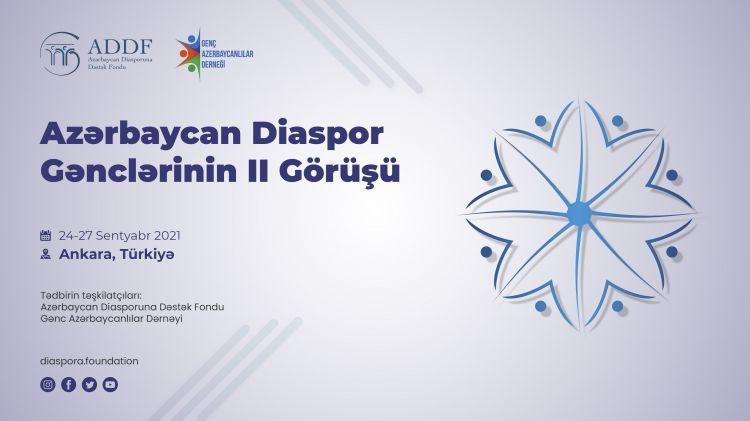Diaspor Gənclərinin II Görüşü layihəsi keçiriləcək
