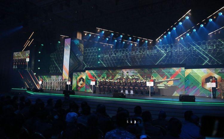 """""""Beynəlxalq Ordu Oyunları - 2021"""" yarışlarının bağlanış mərasimi keçirilib -  FOTO"""