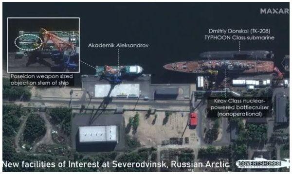 Rusiyanın qorxu yaradan yeni silahının peyk görüntüləri çəkilib