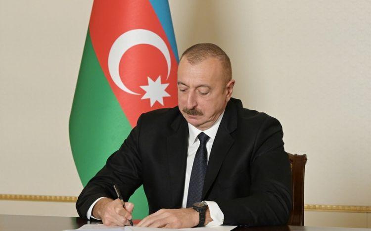 Prezident Kürdəmirdə yol tikintisinə 6 milyon manat ayırıb