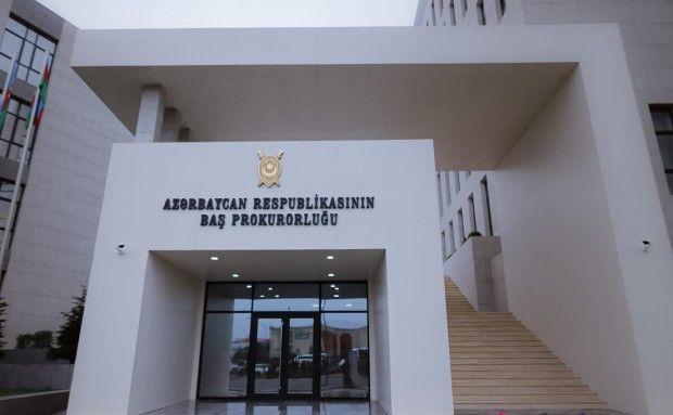 """Baş Prokurorluq:  """"Mövlan Şixəliyevin cinayət işi üzrə istintaq yekunlaşmaq üzrədir"""""""