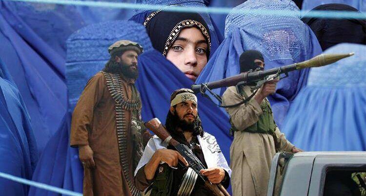 """""""Taliban""""dan əfqan qadınlara qadağa: bədəni açıla bilər..."""