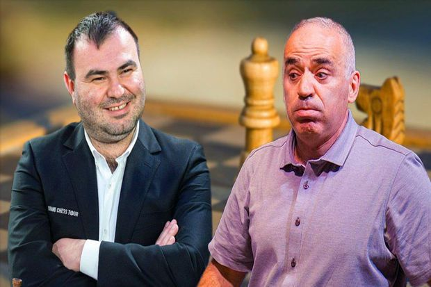 Şəhriyar Məmmədyarov Kasparova qalib gəldi -  FOTO