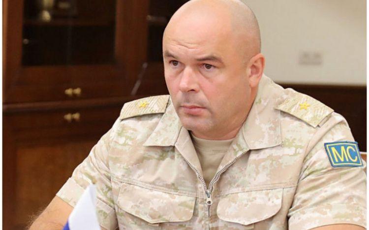 Qarabağdakı Rusiya sülhməramlılarının yeni komandanı İrəvana getdi