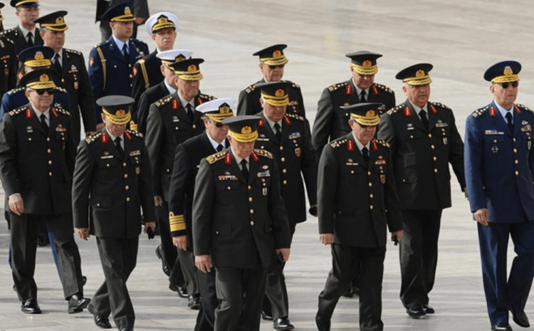Bakıya göndərilən türk generallar -  FOTO