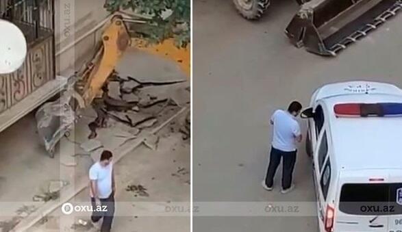 Azərbaycanda rüşvət alan polis işdən qovuldu -  VİDEO