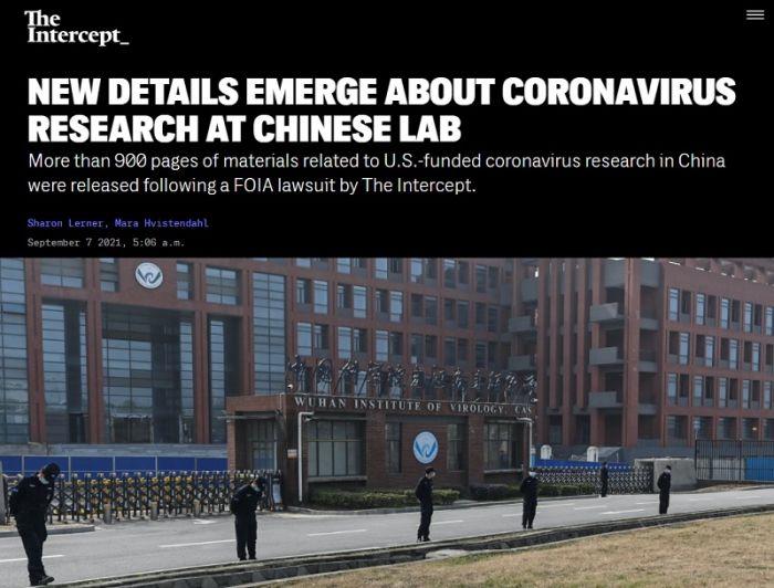 """The İntercept: """"Koronavirus ABŞ-ın pulu ilə yaradılıb"""" -  Qalmaqallı sənədlər"""