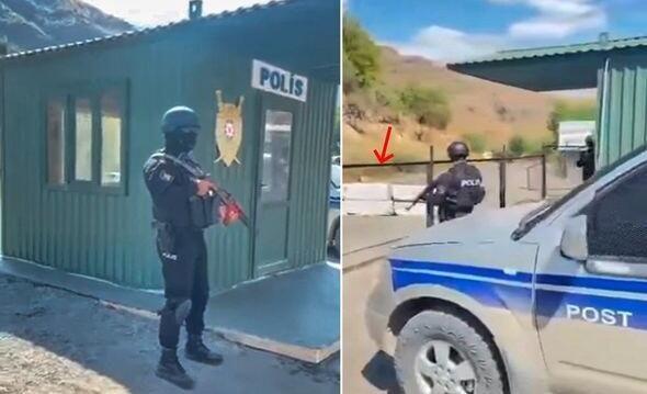 Polis postunu görən ermənilərin dizləri titrəyir –  Köçəryan - VİDEO