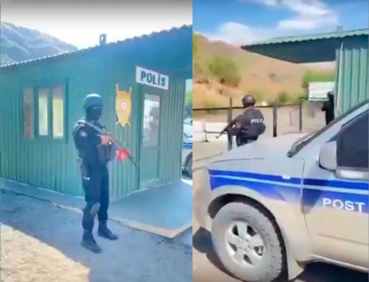 Azərbaycan polisi erməni yük maşınlarını da yoxlamağa başladı