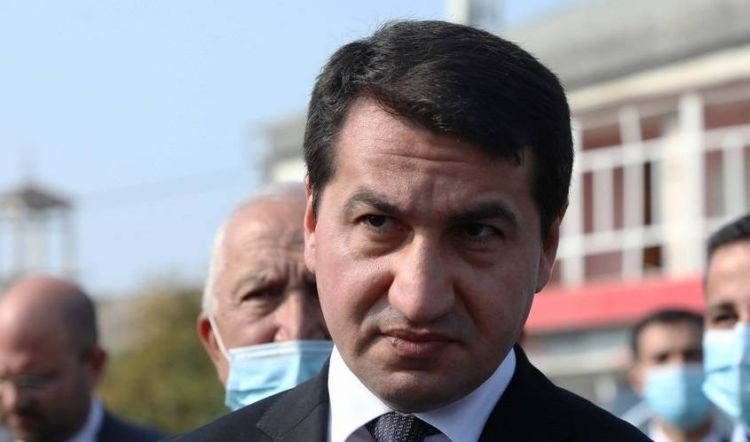 Hikmət Hacıyev yenidən Abbas Musəvi ilə görüşdü -  FOTO