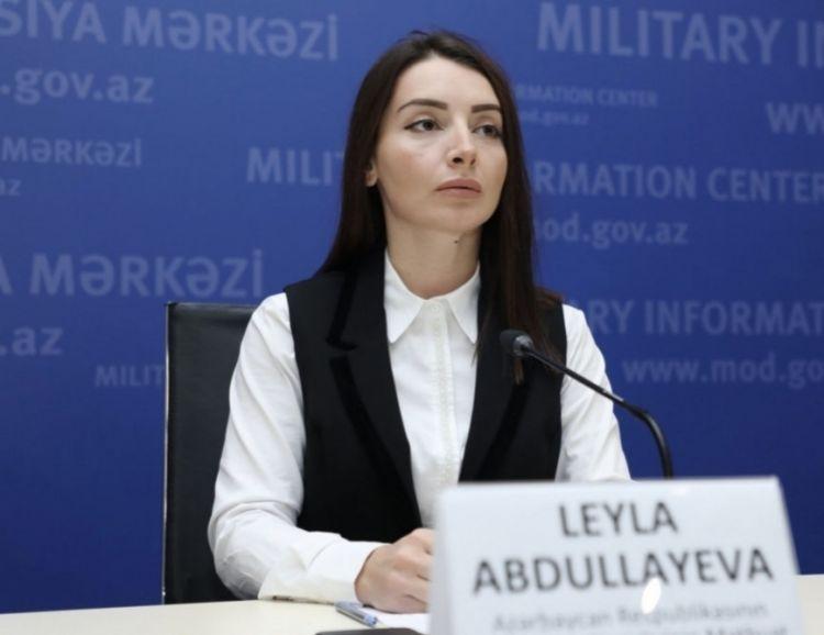 Leyla Abdullayeva:  Beynəlxalq hüquq çərçivəsində ədaləti təmin edəcəyik