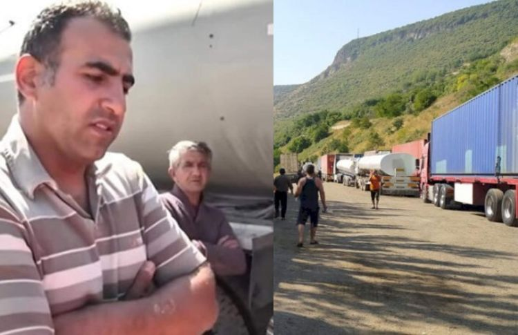 İrəvana yük daşıyan sürücülər azərbaycanlılar deyil,  xüsusi agentlərdi...