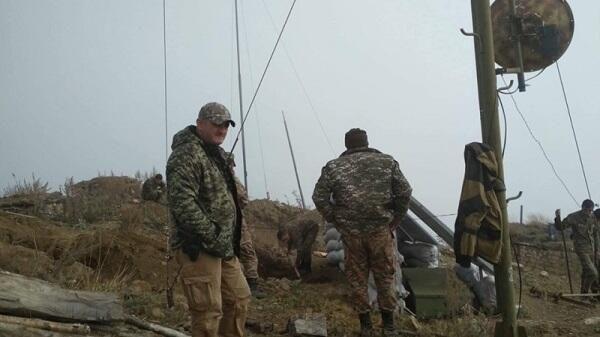Qarabağda erməni terrorçu yaralandı
