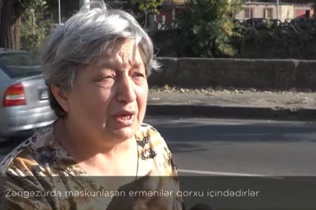Zəngəzurda məskunlaşan ermənilər qorxu içindədirlər –  VİDEO