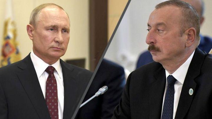 İlham Əliyev rusiyalı həmkarına başsağlığı verib
