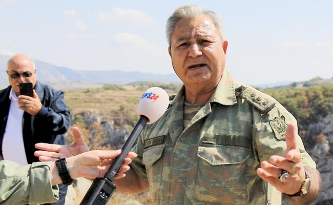 """Şuşada şəhid oğlunun ruhu ilə görüşən ATA: """"Salam, oğlum"""" -  VİDEO"""