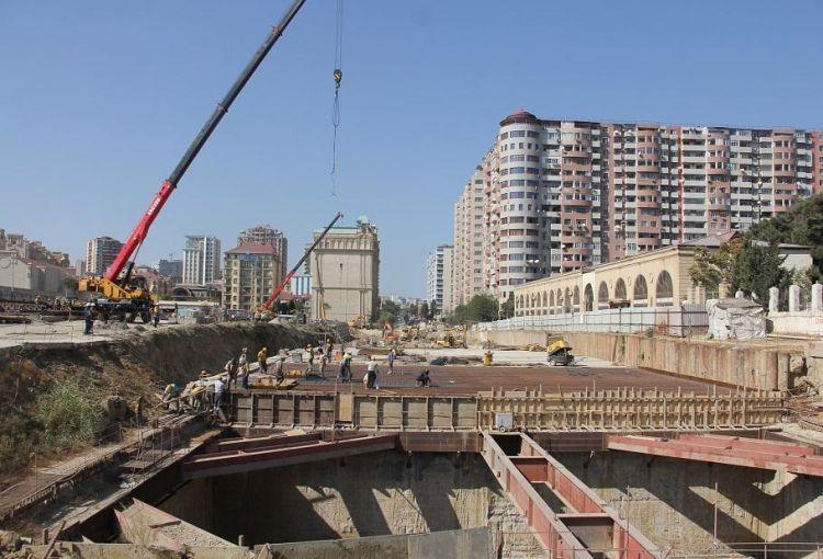 Bakıda yeni metro stansiyasının tikintisinə başlanıldı -  FOTO