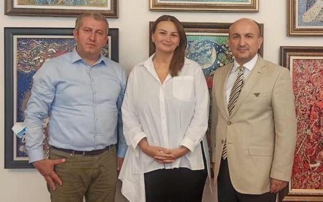 Qənirə Paşayeva türkiyəli aydınlarla görüşdü