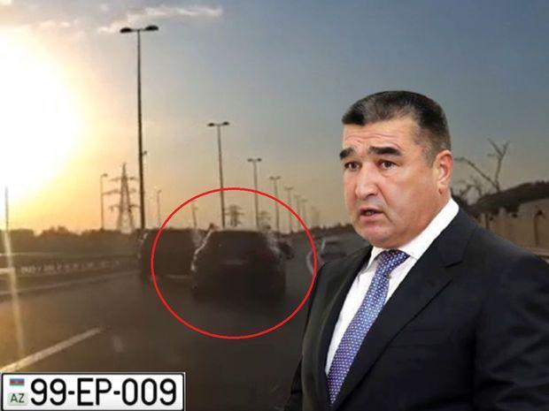 """Etibar Pirverdiyevin oğlu """"Porsche"""" ilə """"avtoş""""luq etdi: DİN araşdırmalara başladı -  VİDEO"""