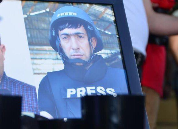 Şəhid jurnalistin övladları məktəbə getdilər -  FOTO