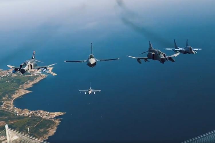 Türkiyə MN Azərbaycan qırıcılarının İstanbul səmasında uçuşlarının görüntülərini yayıb -  VİDEO