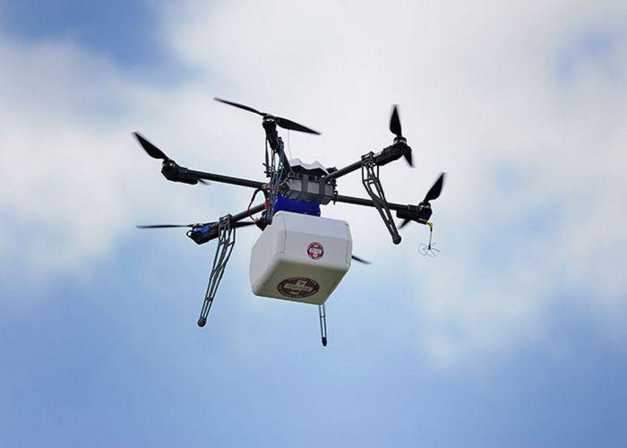 PUA-larla bağlı yenilik:  Dərmanları dronlar çatdıracaq - VİDEO