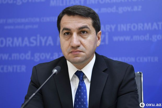 Hikmət Hacıyev İranın XİN başçısının müavini ilə görüşdü