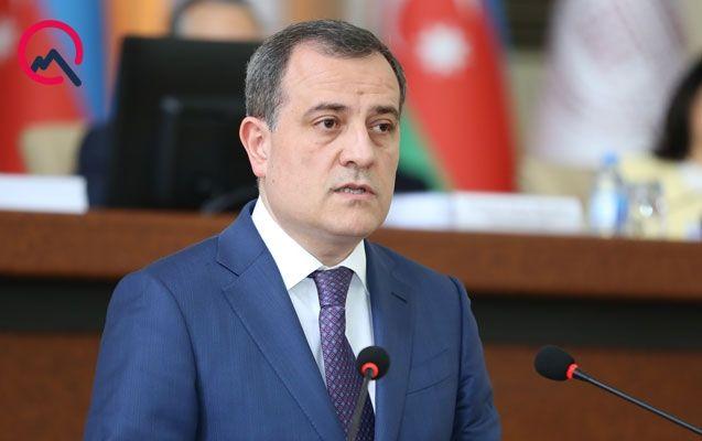 Ceyhun Bayramov Ararat Mirzoyan ilə görüşüb