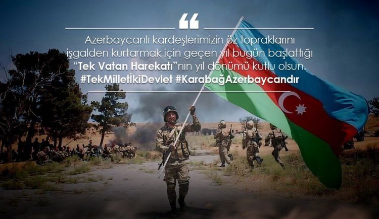 Türkiyə Milli Müdafiə Nazirliyi Anım Günü ilə bağlı paylaşım etdi