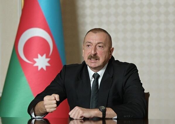 """Prezident:  """"Görsək ki, təhdid yaranır, biz o təhdidi məhv etməliyik"""""""