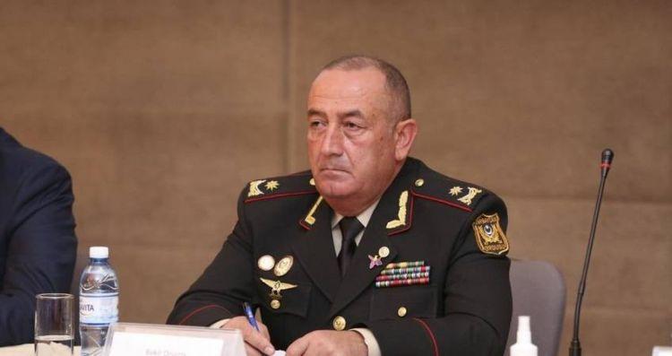 General Bəkir Orucov yeni vəzifəyə təyin edildi