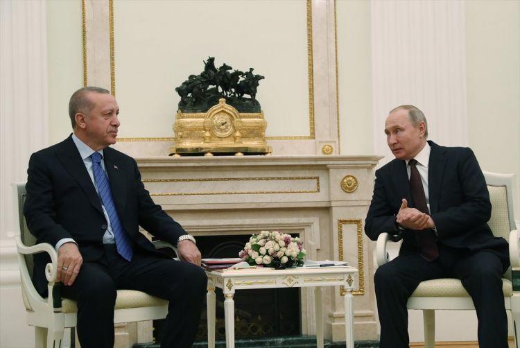 Soçidə Ərdoğanla Putin arasında görüş başlayıb