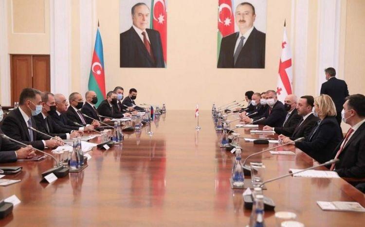 Azərbaycanla Gürcüstan arasında beş sənəd imzalandı