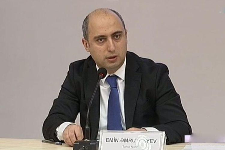 """Emin Əmrullayev:  """"Daha çox vaxta ehtiyac var"""""""