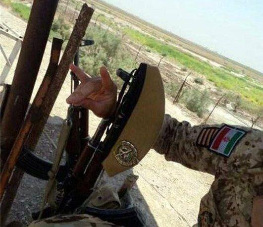 İranın hərbi təlimində çəkilən  foto təəccübləndirdi