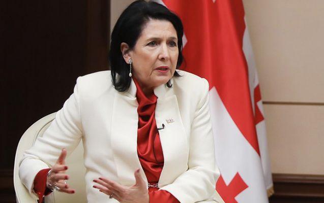 """Gürcüstan Prezidenti:  """"Saakaşvili əfv edilməyəcək"""""""