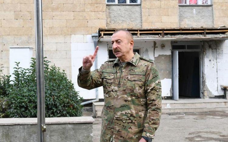 Prezident Qarabağın yenidən qurulmasına ayrılan vəsaiti açıqladı