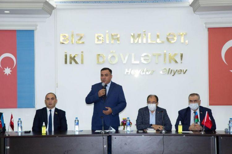 """GYF-də """"Şanlı Zəfərimiz"""" Adlı Anım Tədbiri Keçirilib -  FOTO"""