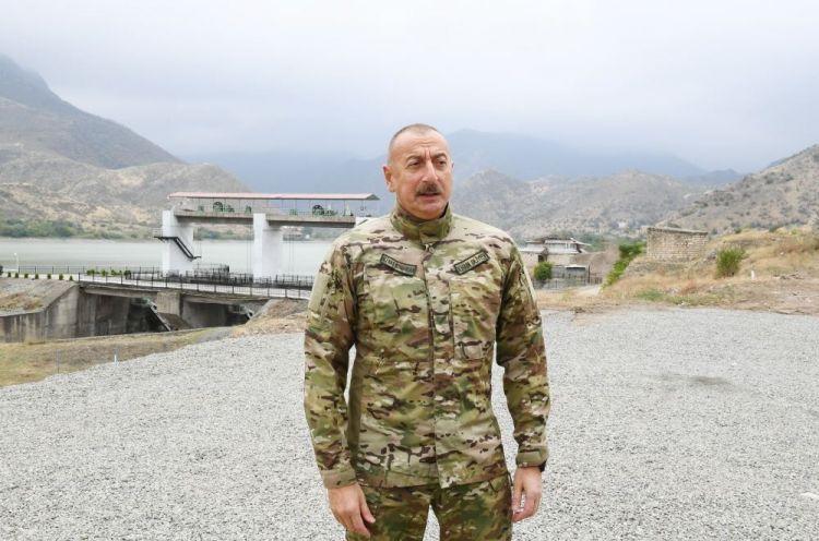 Prezident İlham Əliyev:  Suqovuşanda dayanmışam, Serjikin kişiliyi çatırsa, gəlsin bura