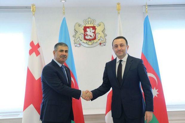 Zakir Həsənov Gürcüstanın Baş naziri ilə görüşüb -  FOTO