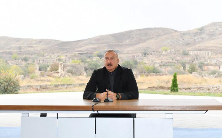 Bu gün Cəbrayıl şəhərinin baş planının... -  Prezident