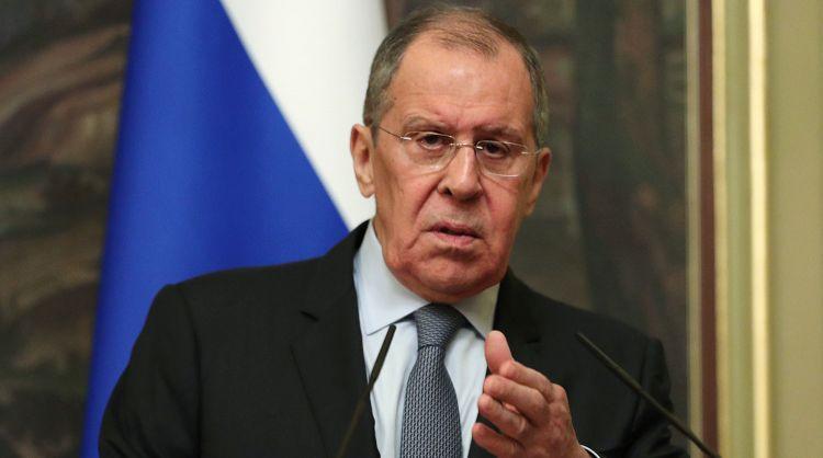 Lavrov iranlı jurnalisti susdurdu
