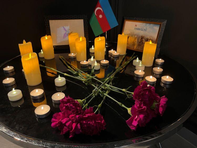 Diaspora Dəstək Fondunun nümayəndələri Macarıstanda -  FOTO