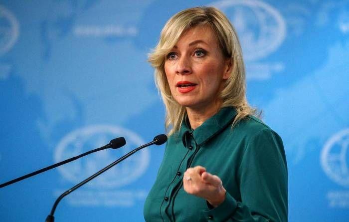 """""""İran tərəfinin açıqlamalarını onların öz rəsmi nümayəndələri şərh etməlidir"""" -  Zaxarova"""