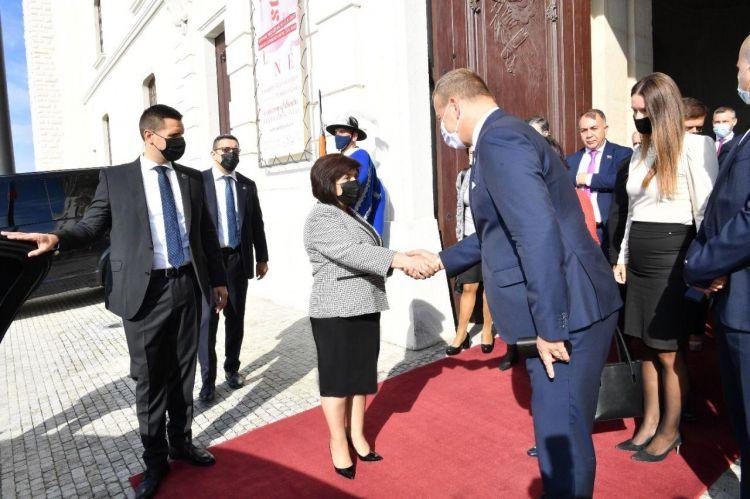 Sahibə Qafarova Slovakiya parlamentinə çağırış etdi -  FOTO